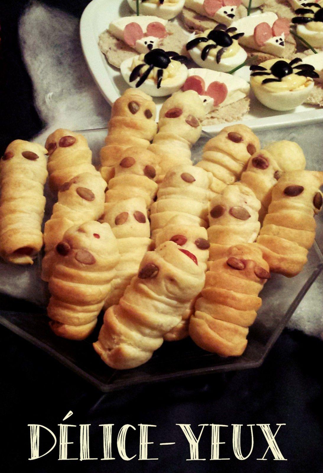 Les Momies Feuilletées {Halloween}