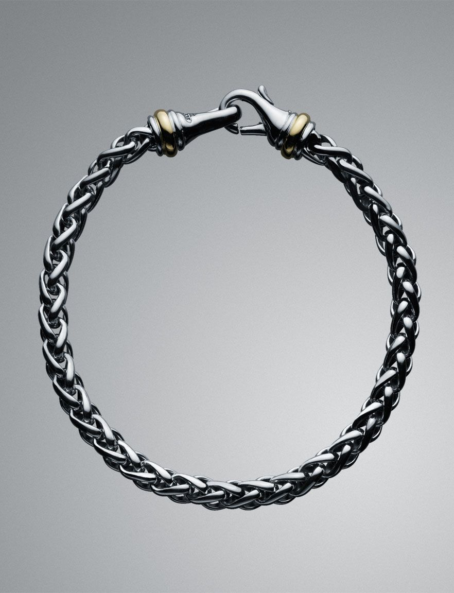 david yurman men 39 s 6mm cable classics wheat chain bracelet. Black Bedroom Furniture Sets. Home Design Ideas