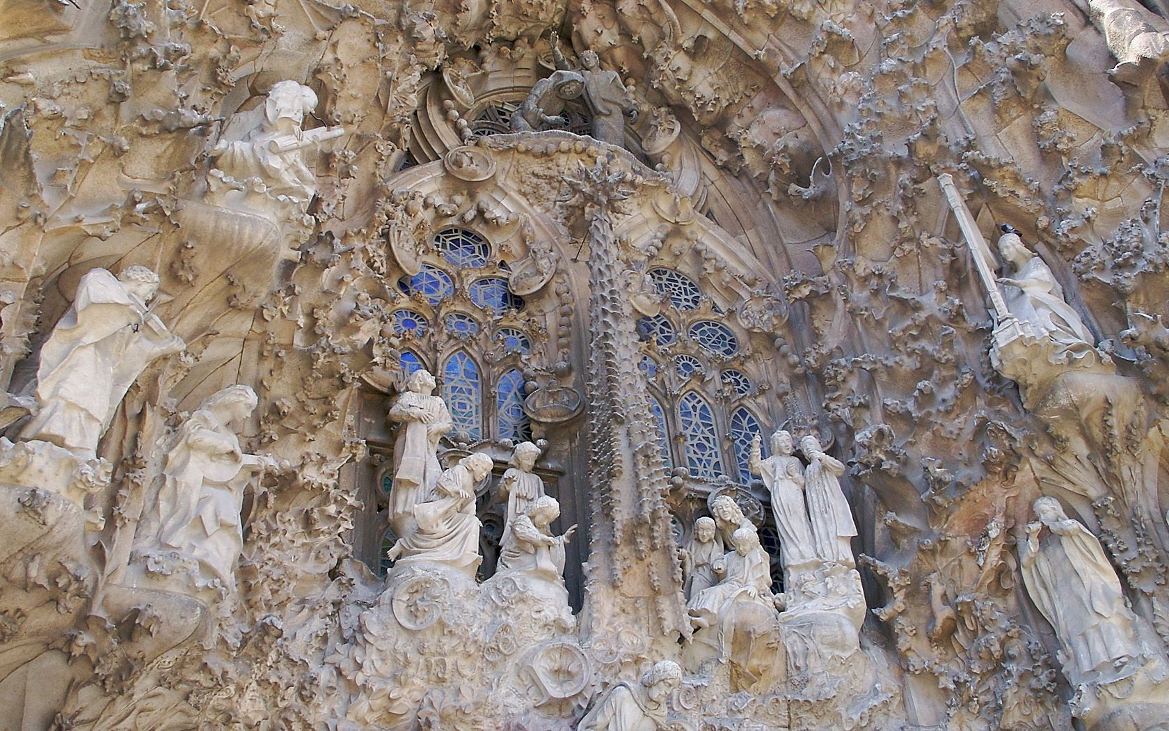 Detail from La Sagrada Familia