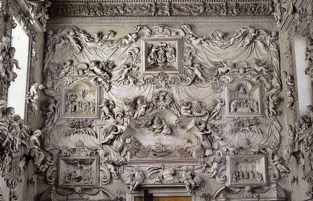 Stucco by Serpotta in the Oratorio del Rosario in Santa Cita, Palermo (Sicily) | Visits are possible, more info at http://www.ilgeniodipalermo.com/en/itinerari/i-tesori-della-loggia.html