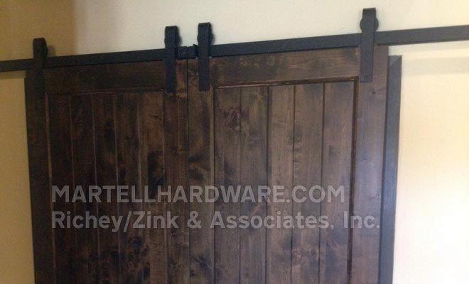Agave Ironworks Barn Door Flat Track Hardware Kits Rolling Door