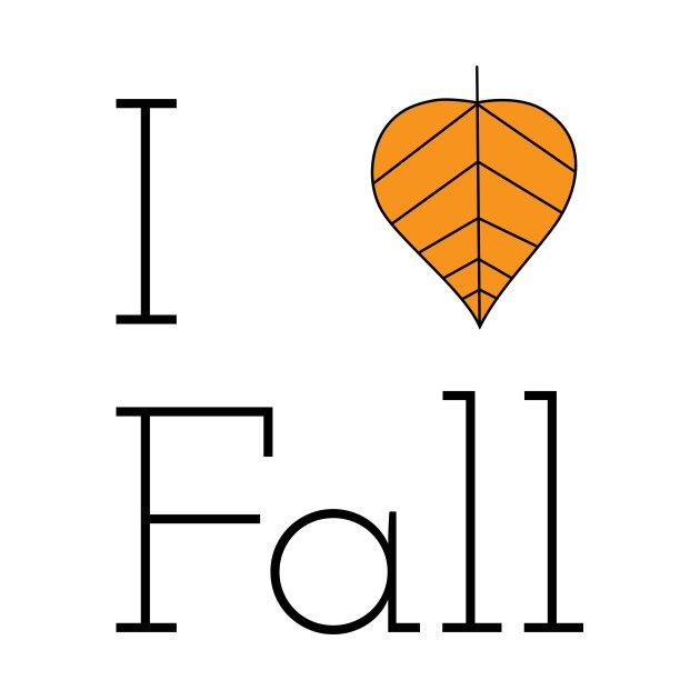Check out this awesome 'I+Love+Fall+T-Shirt' design on @TeePublic!