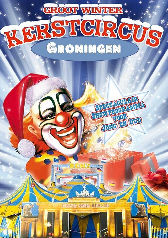 Circus Renz Berlin gaat in Groningen een kerstcircus organiseren.