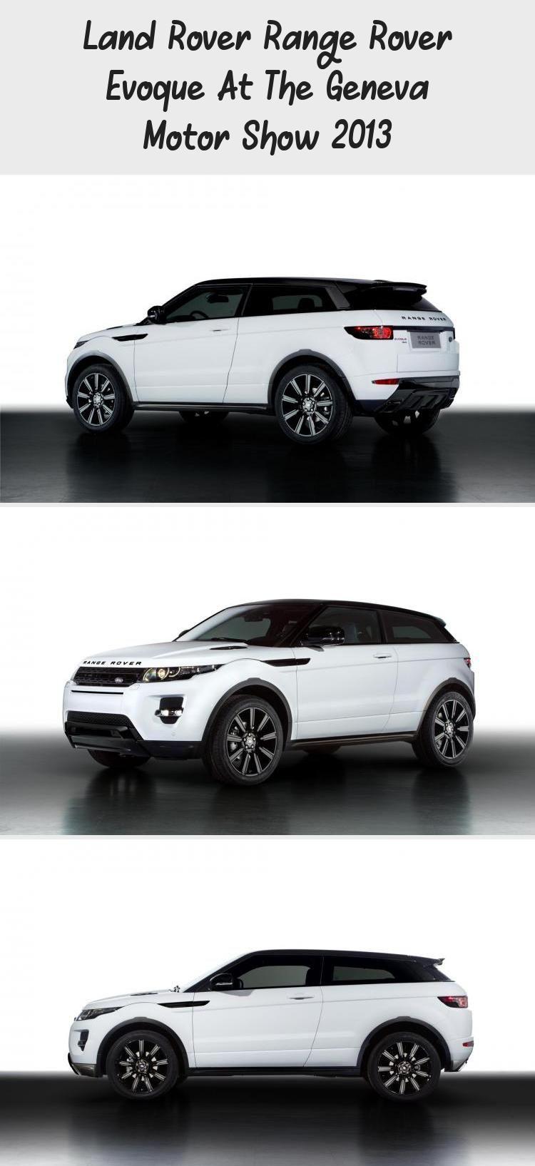 Land Rover Range Rover Evoque At The Geneva Motor Show