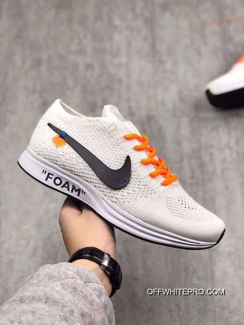 2fc358bc8c76 Women Nike X Off White Flyknit Trainer Shoes SKU 18744-219