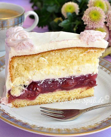 Kirsch Mascarpone Torte Torty I Sdadkoe