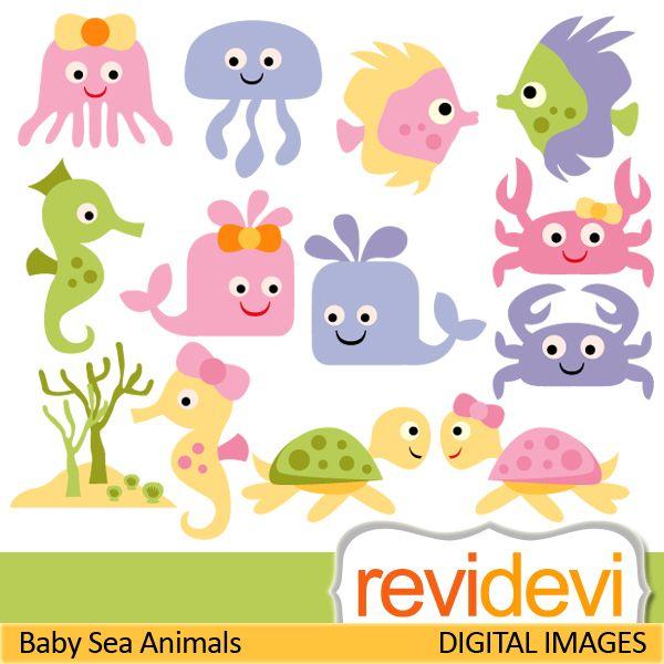 Bebé marinas Animales