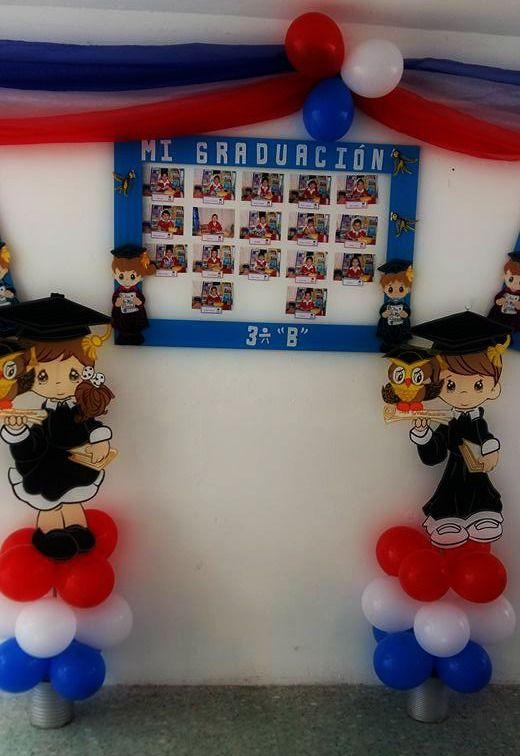 Decoración Para Clausura Graduación Infantil Decoracion