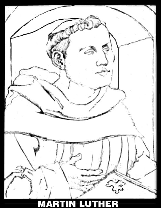 martin luther coloring pages reformation clothing | Martin Luther Reformation Coloring Pages | martin luther ...