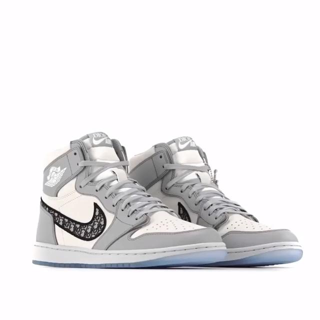 Air Jordan I High Og Dior Video Dior Shoes Jordan Shoes Girls Nike Air Shoes