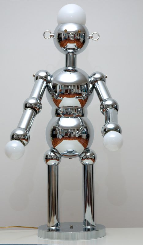 Large Torino Robot Lamp Robot Lamp Lamp Light