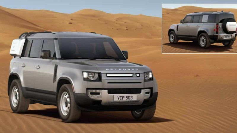 Land Rover Defender Configurator Is Live With Images Land