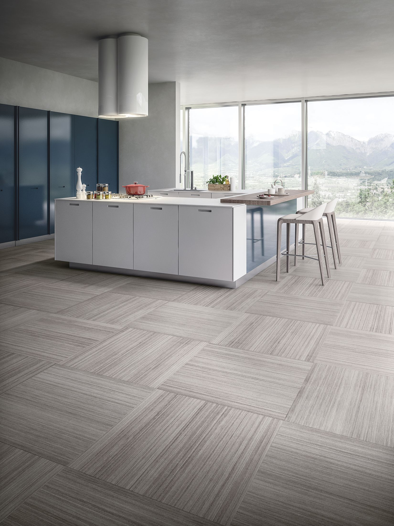 Contemporary Porcelain Tile