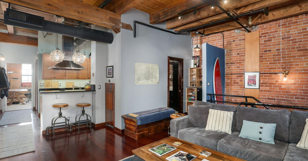 Rivertown Loft Across From Belle Isle With Downtown Views Asks