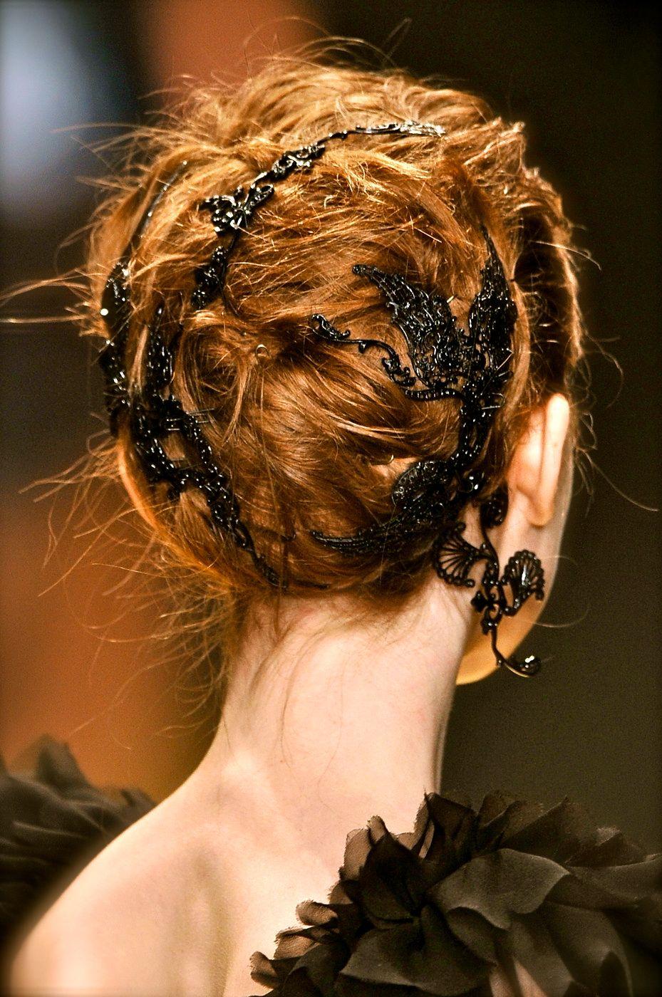 rustic ideas plum pretty sugar karl lagerfeld hair jewelry