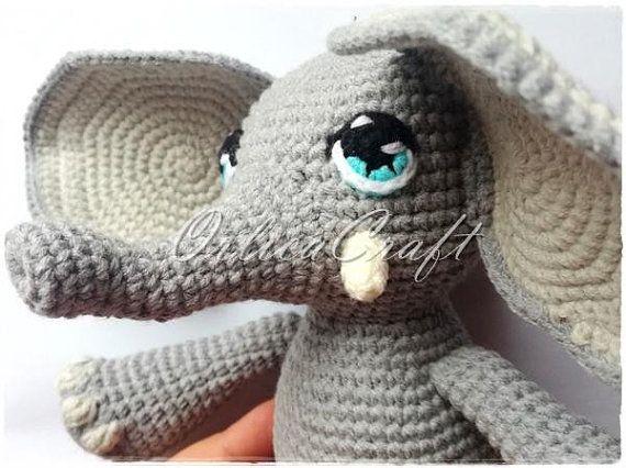 Pola Gratis Gantungan Kunci Amigurumi : Crochet amigurumi elephant ears crochet amigurumi elephant