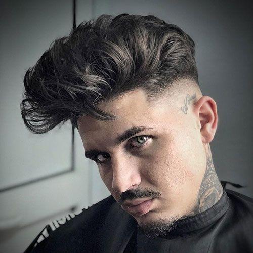 Haarschnitt Moderner Kerl Trendy Frisuren Ideen 2019