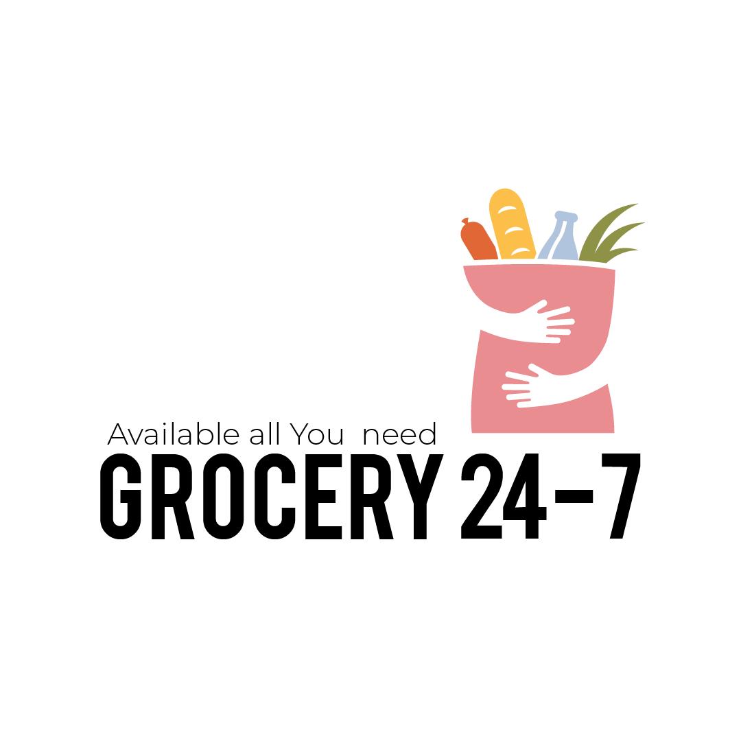 Grocery Store Logo Template Supermarket Logo Branding Design Logo Logo Design Typography