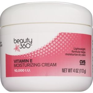 Beauty 360 Vitamin E Moisturizing Cream 10000 Iu 4 Oz Cvs Com Moisturizer Cream Vitamin E Moisturizing Cream