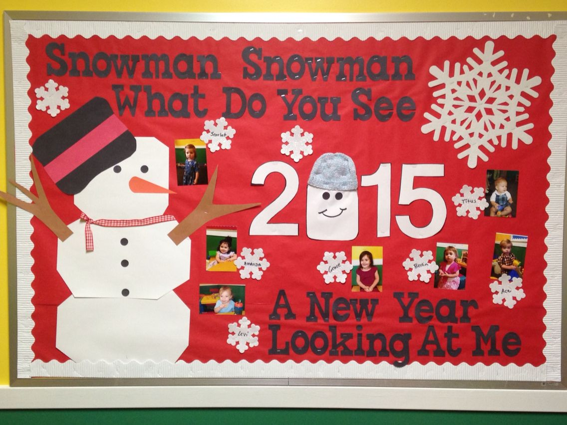 New year bulletin board | January bulletin boards ...
