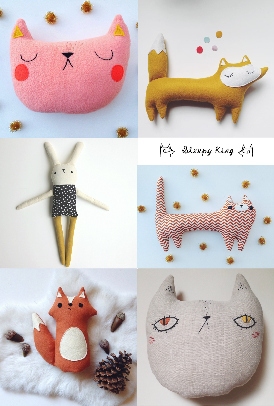 Ideen für süße Tiere zum Nähen | Nähtutorials | Pinterest | süße ...