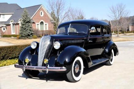 1936 Hudson Terraplane (getaway car with dear @Lynn Beilfuss behind the wheel!)