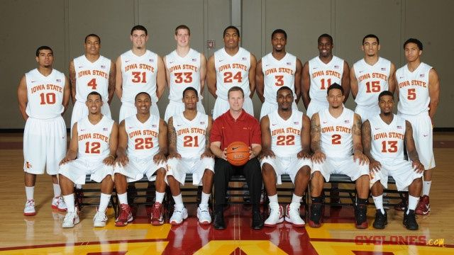 20 On The Cyclones Team The 2012 13 Cyclones Basketball Team
