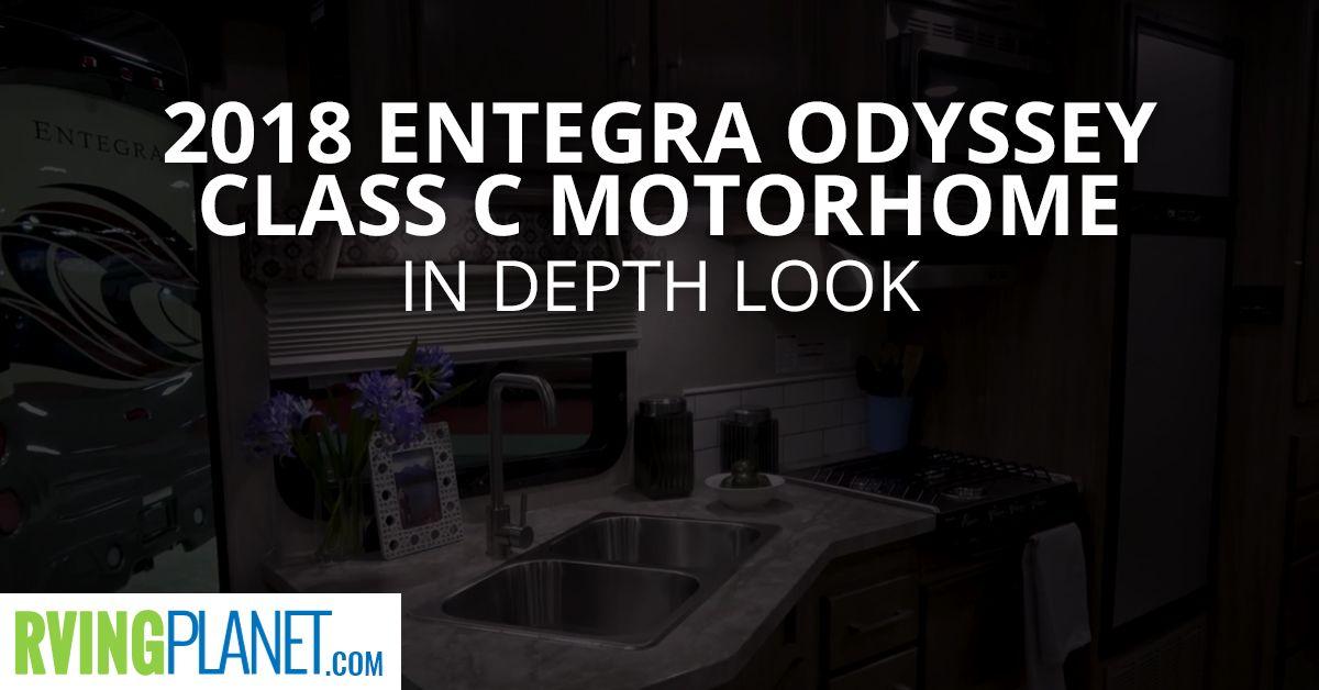 2018 Entegra Odyssey Class C Motorhome