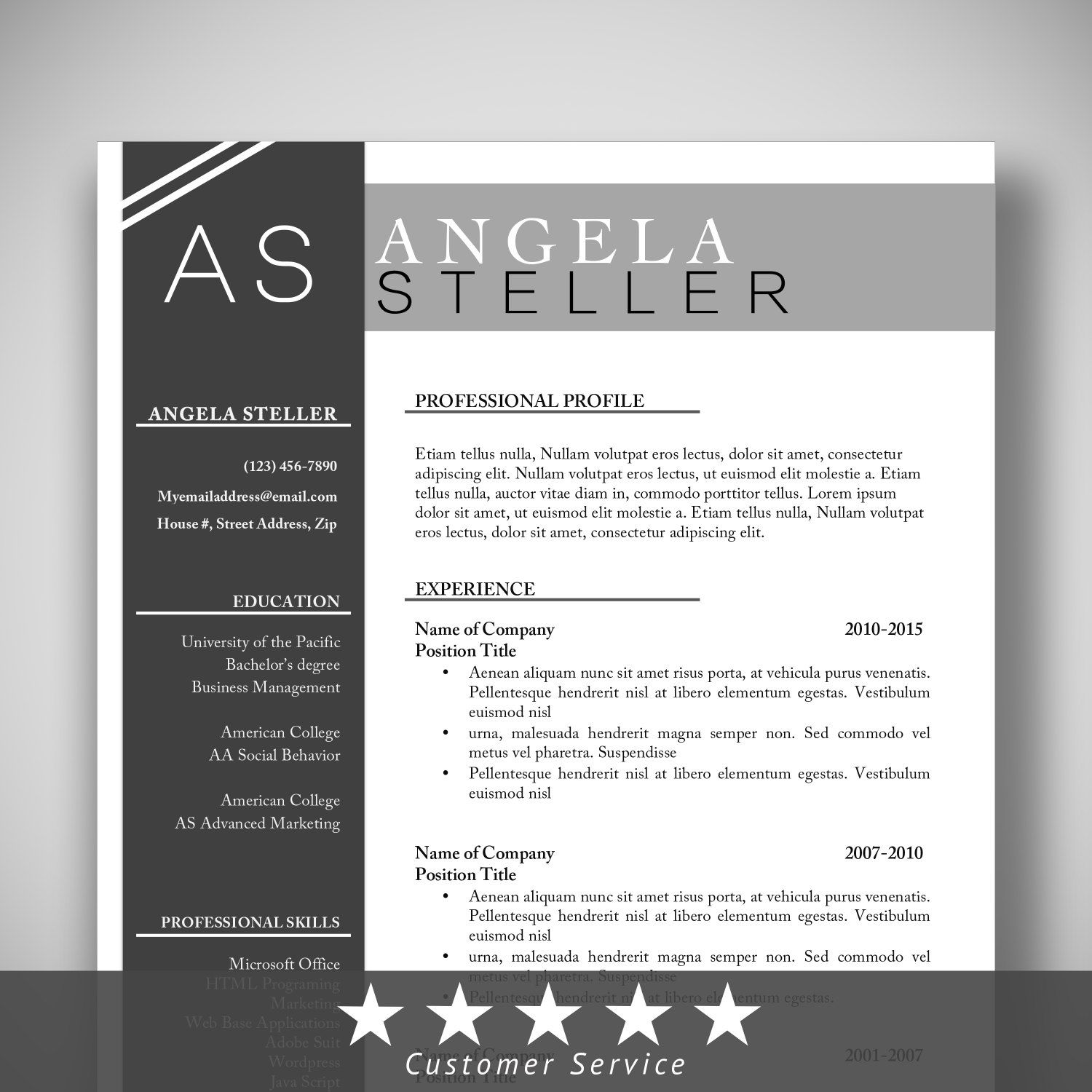 Shared By > resume template cv