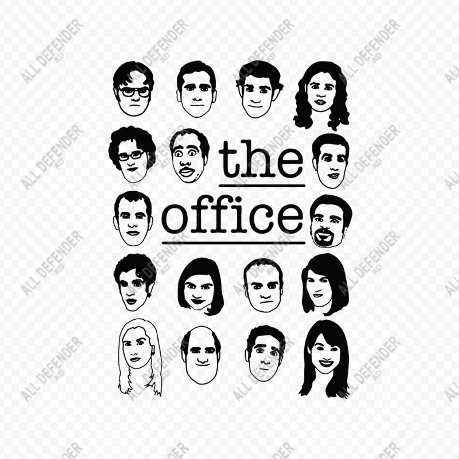 The Office Cast Svg Schrute Farms Svg Dwight Schrute Svg