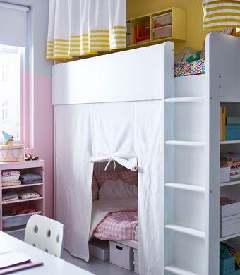Ikea Deutschland Geteiltes Kinderzimmer Mit Hochbett Und Einem
