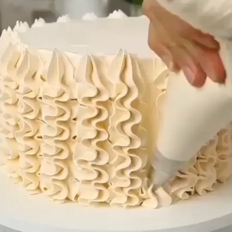 Piping decorating for your birthday cake #decorating # ...