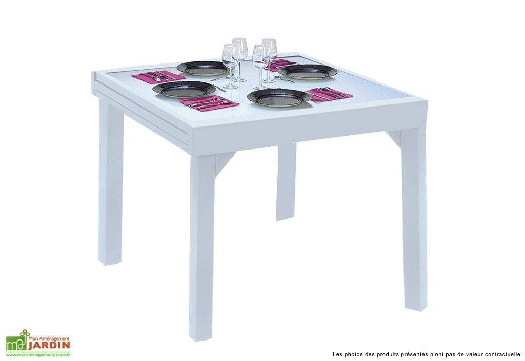 Les 25 meilleures id es de la cat gorie table jardin extensible sur pinterest - Table pliable jardin ...