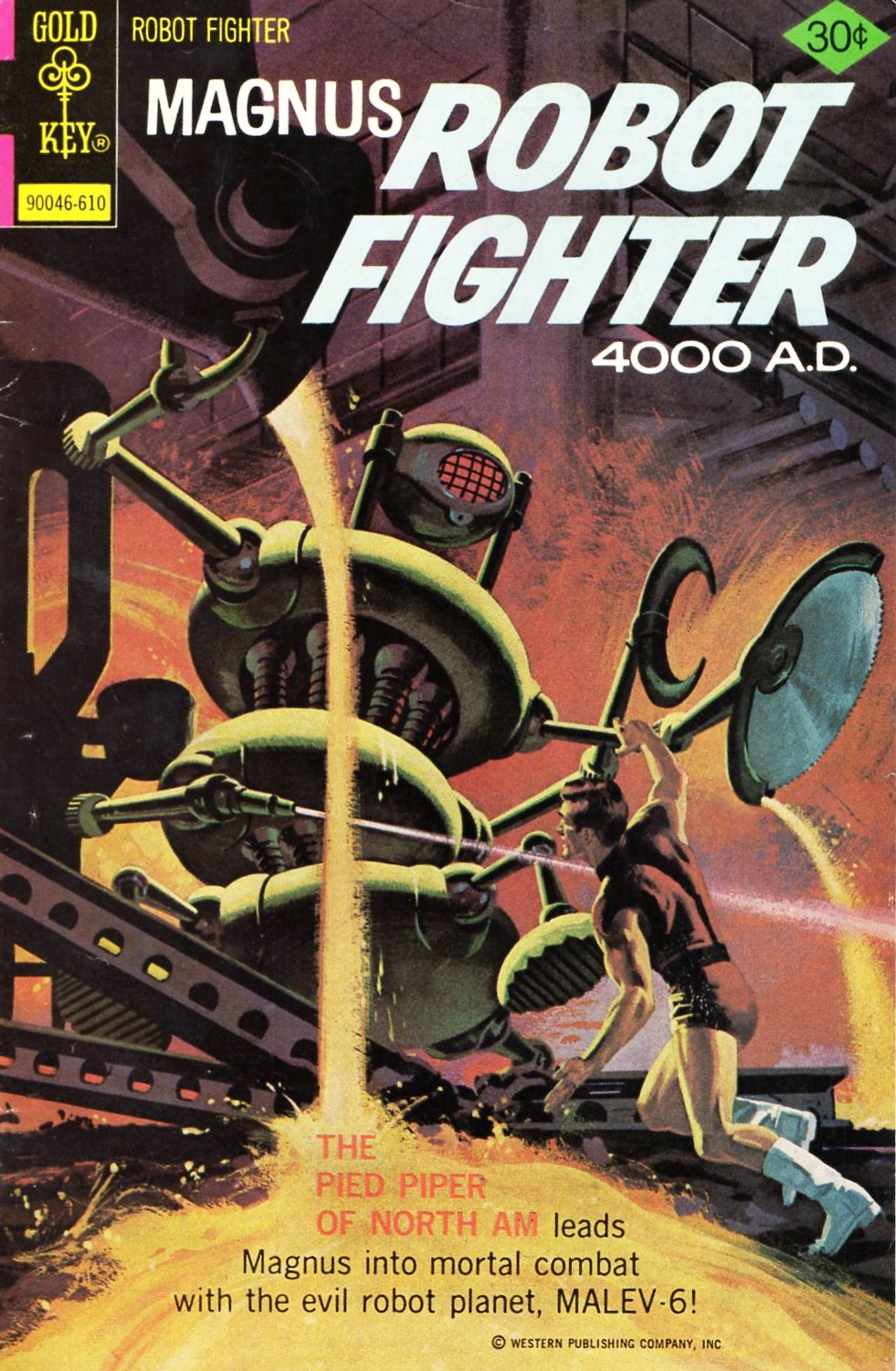 Magnus Robot Fighter 4000 Ad Issue 45 Read Magnus Robot Fighter 4000 Ad Issue 45 Comic Online In High Classic Comic Books Sci Fi Comics Silver Age Comics
