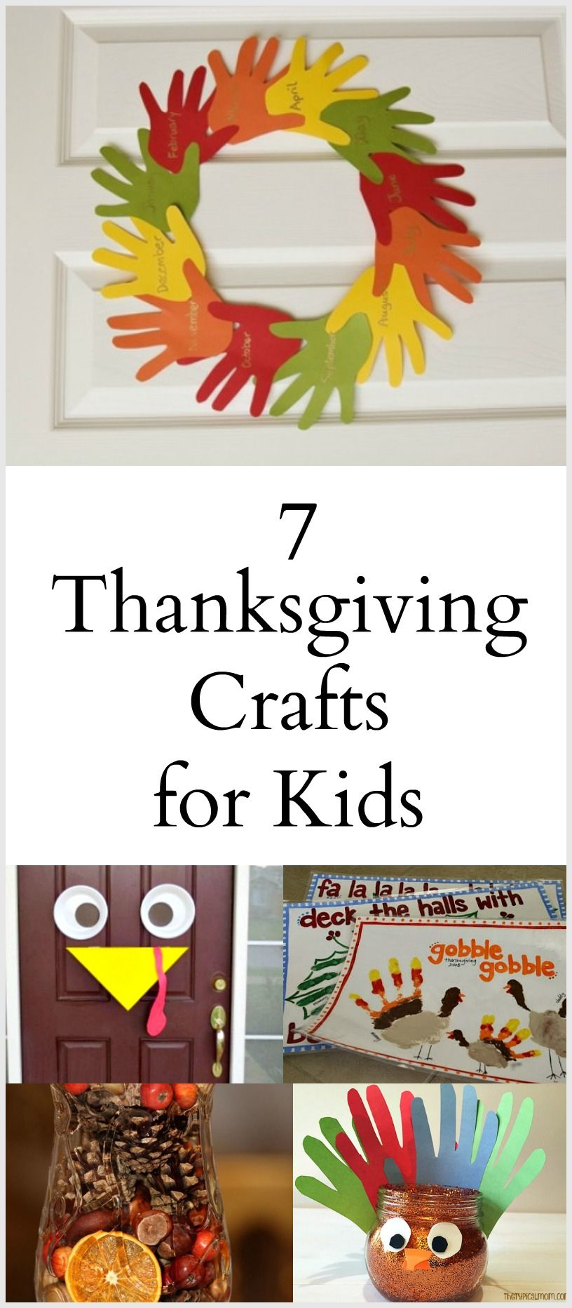 7 Thanksgiving Crafts - The Write Balance