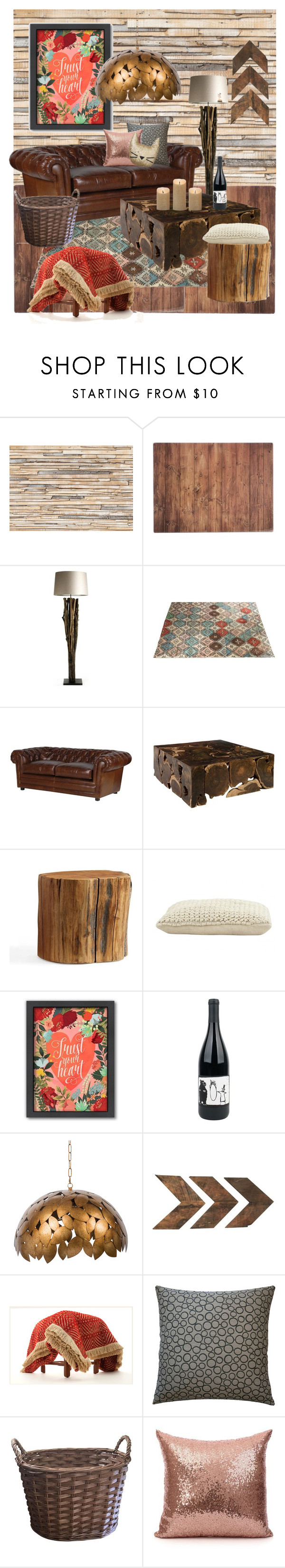 """""""Happy home 🦊"""" by huxmay ❤ liked on Polyvore featuring interior, interiors, interior design, home, home decor, interior decorating, Brewster Home Fashions, Typhoon, Pottery Barn and Jayson Home"""