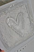 Silver Heart Valentines Decoration