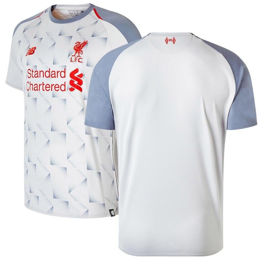 Liverpool Third Away Light Grey 2018 19 Shirt Soccer Fussball Replica Jersey Football Bnwt Top Athletic Bilbao Premiers Sons