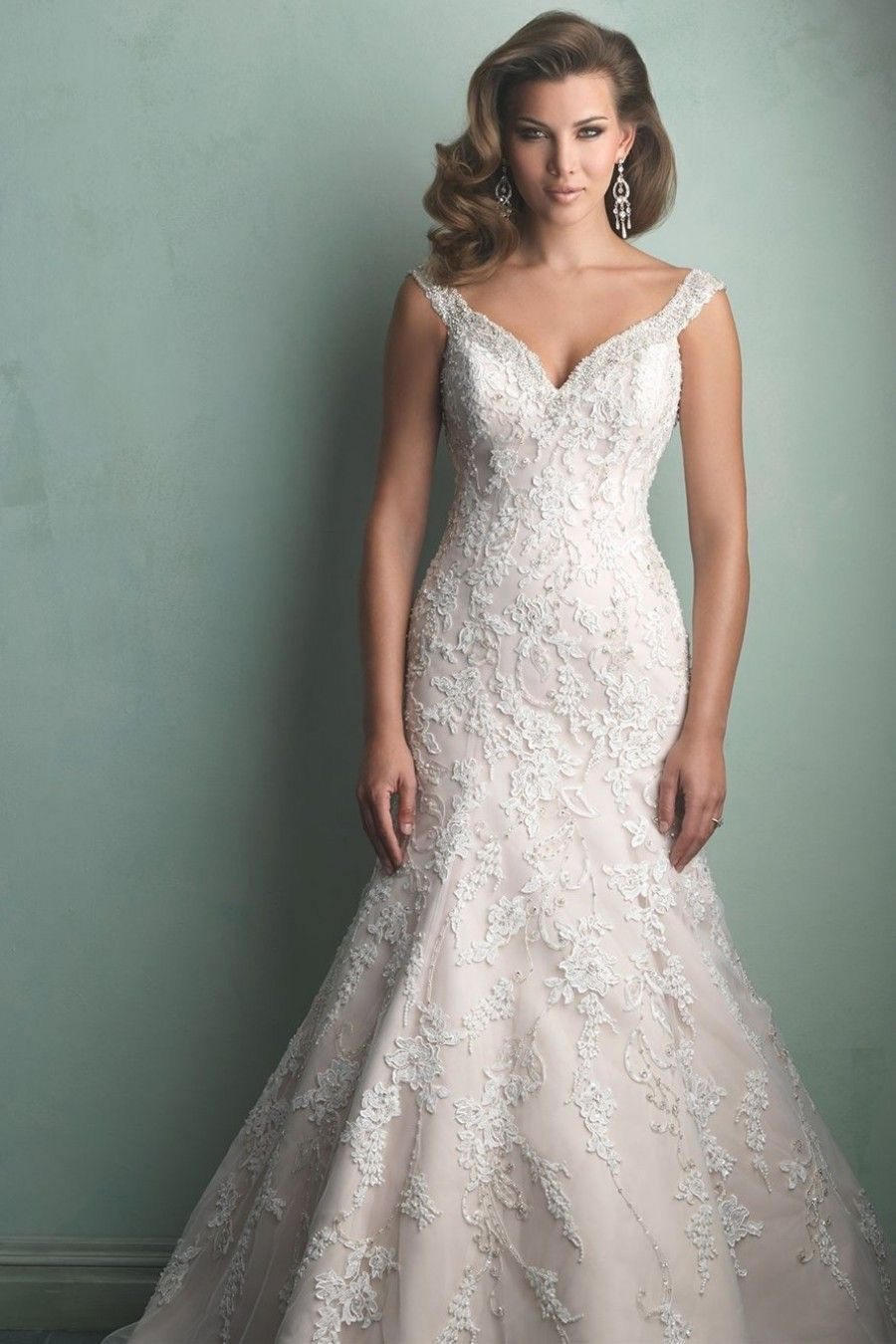 Allure Bridals Wedding Dress 9164 $283 Brides
