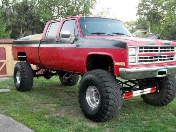 4 Door Long Box Square Body Chevy Trucks Ford Pickup Trucks Chevy Trucks