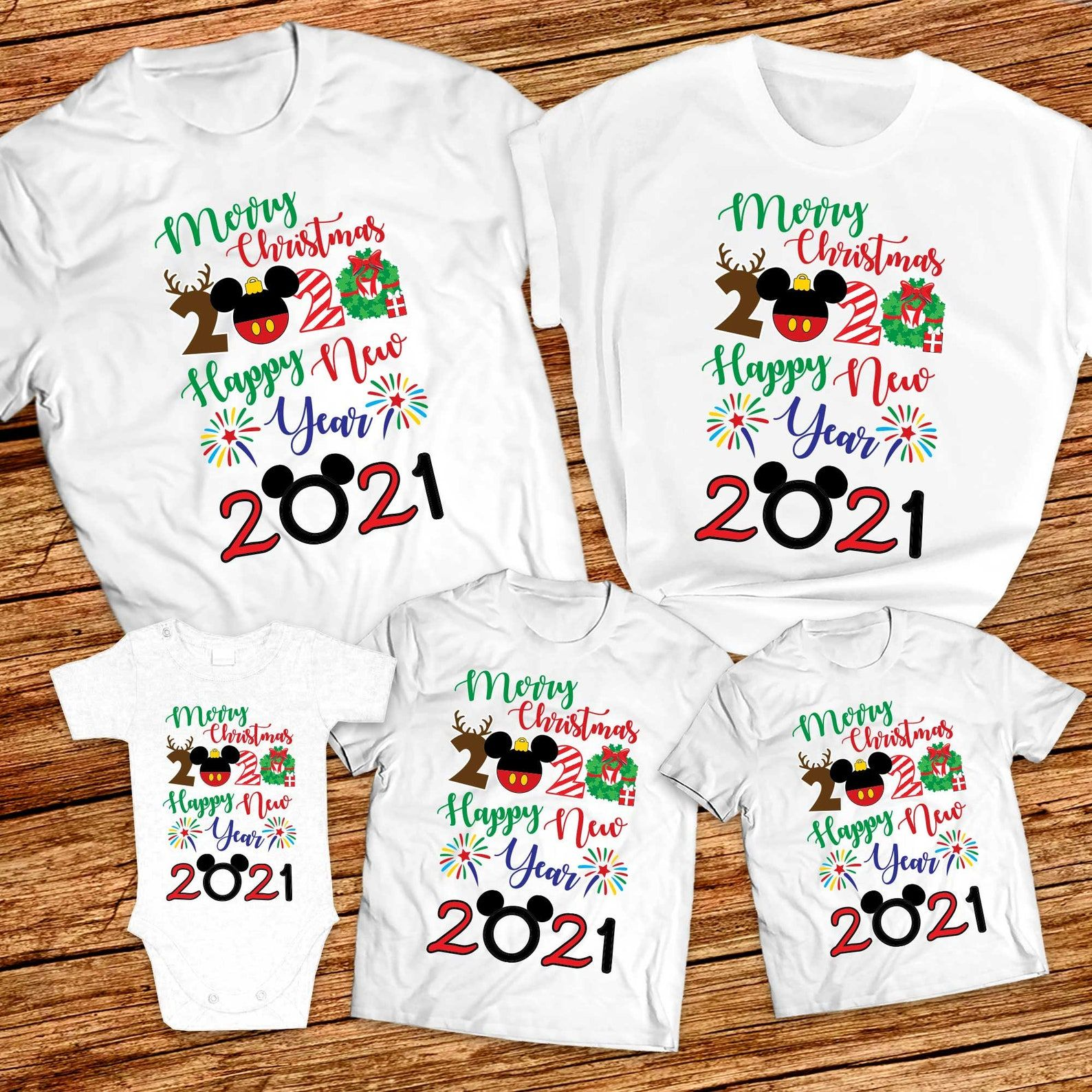 Very Merry Christmas 2020 And Happy New Year 2021 Shirts Matching Family Christmas And New Year Shirts Disney Christmas And New Year Shirt In 2020 New Years Shirts Very Merry Christmas Merry Christmas Shirts