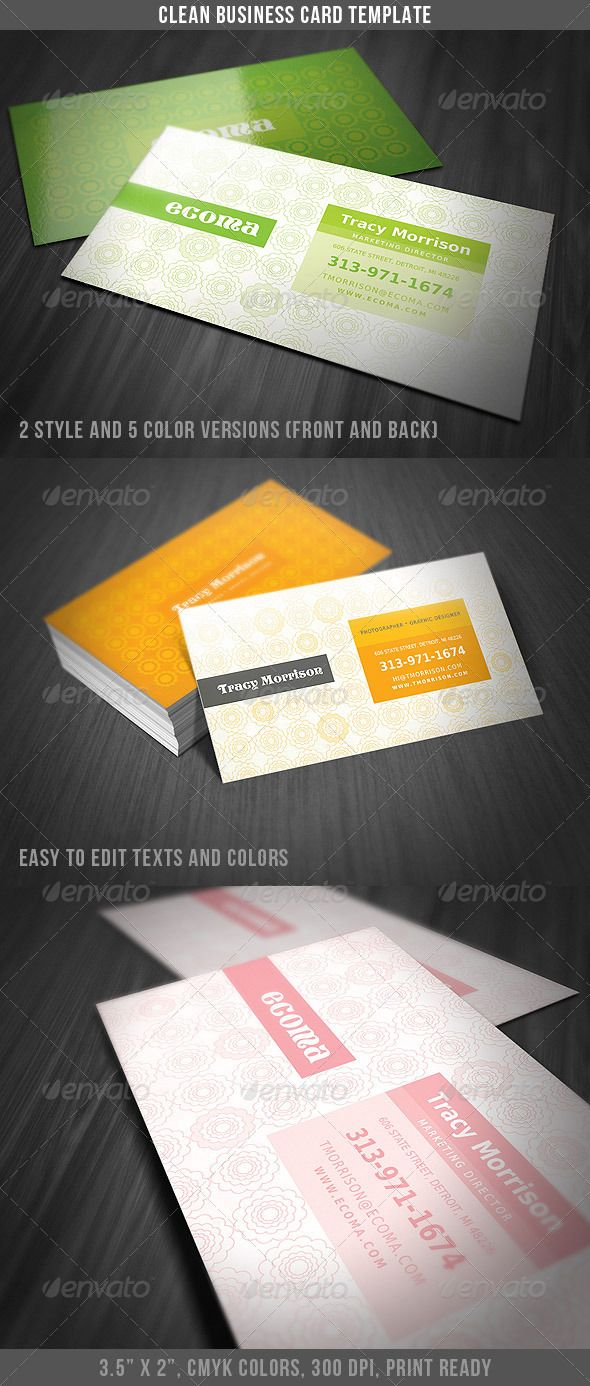 Clean classy business card business cards classy and unique clean classy business card colourmoves