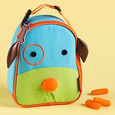 Kids Lunch Bags: Childrens Dog School Lunch Bags in Reusable Tote Bags
