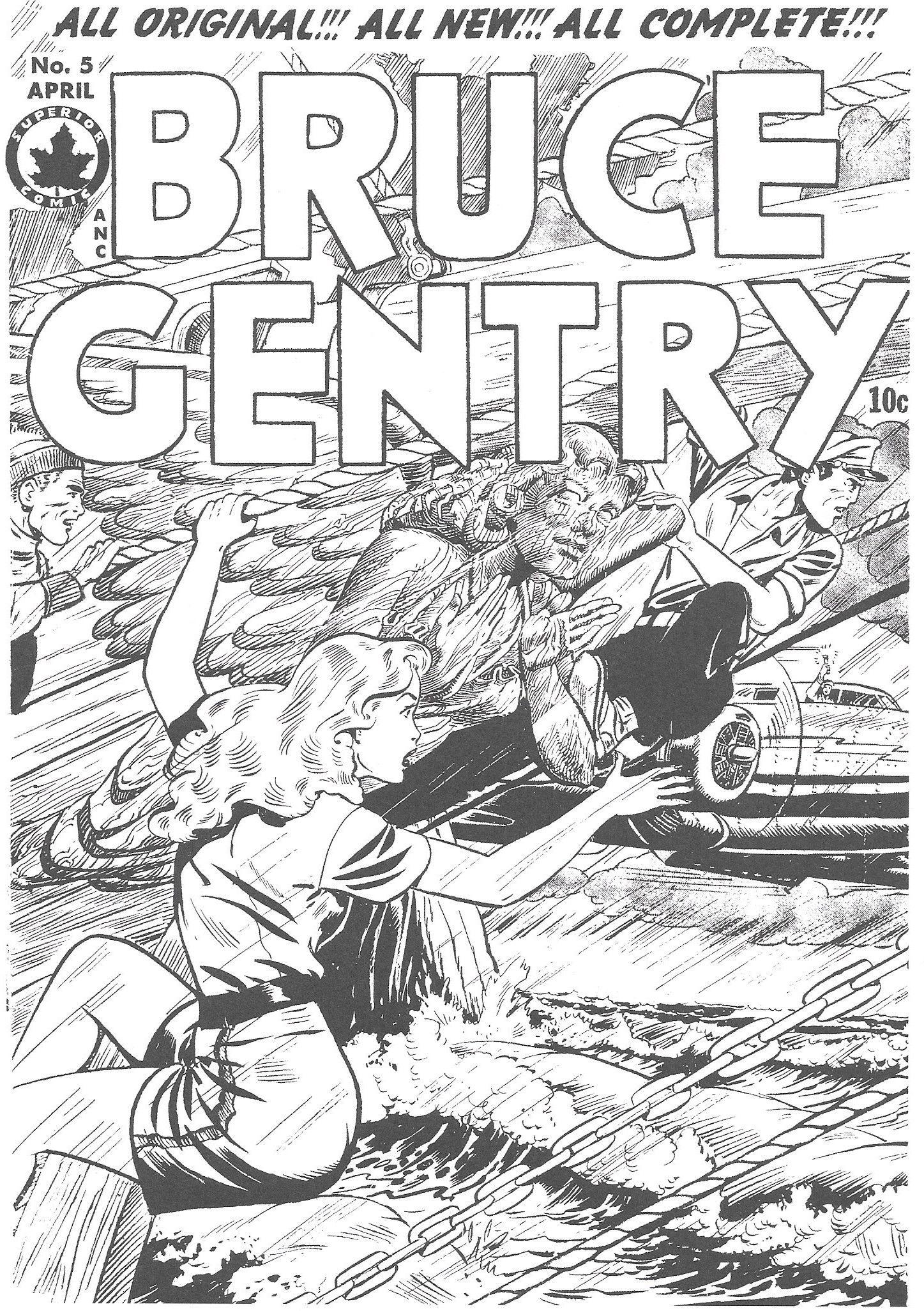malvorlagen #coloringpage #ausmalen #comic #cover #brucegentry ...