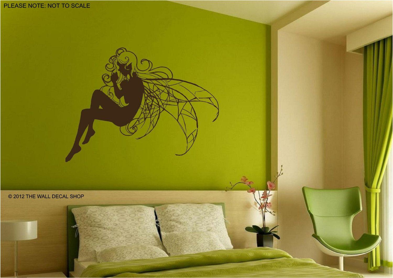 FAIRY - Wall Art Sticker - 3 sizes   Interior walls, Walls and Wall ...