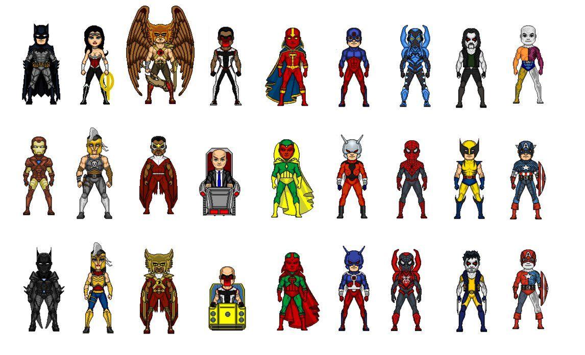 все герои марвел картинки с именами при взгляде