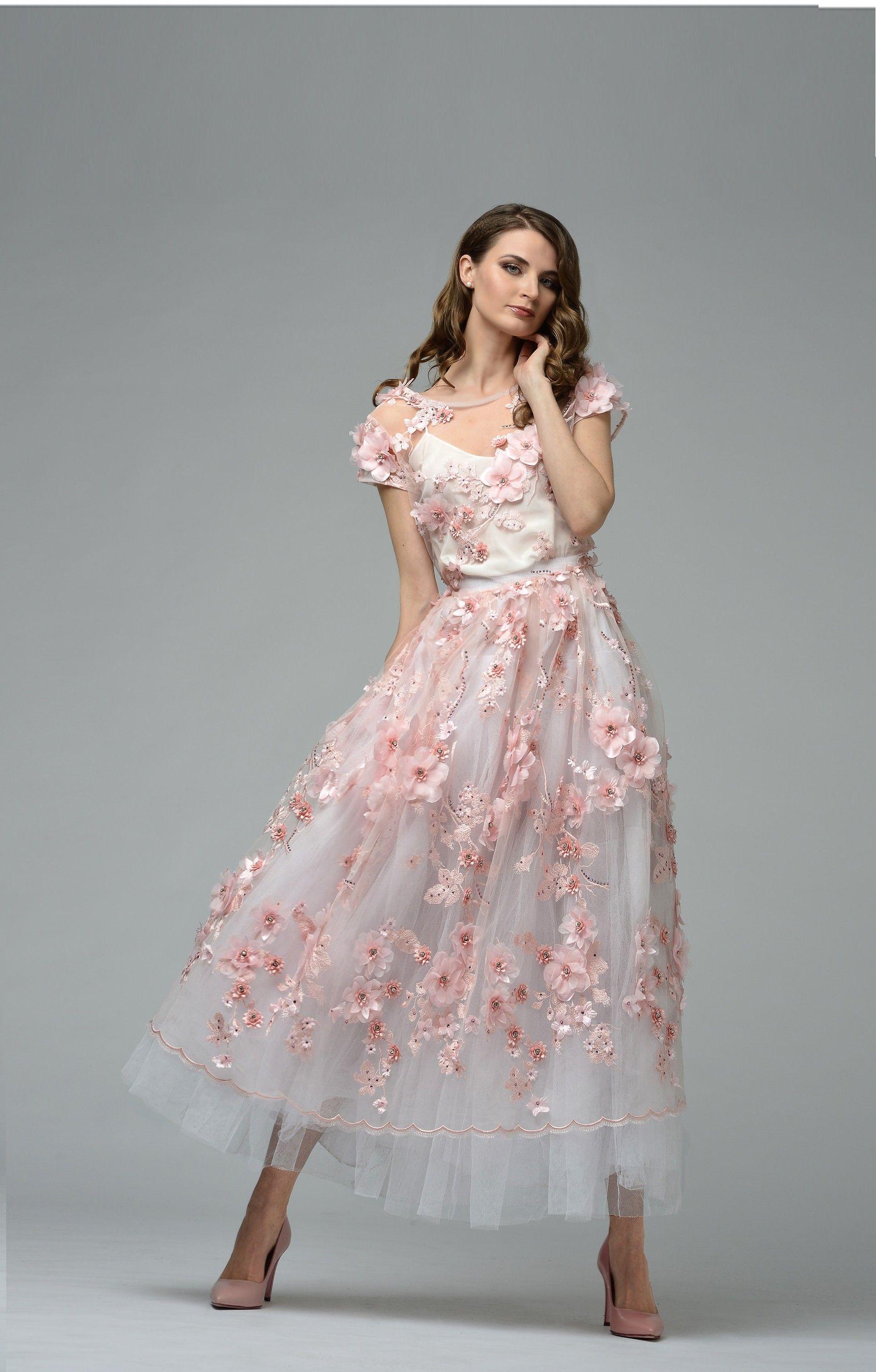 Couture Abendkleid Josefine Weiss #fashion #shopping #damenmode ...