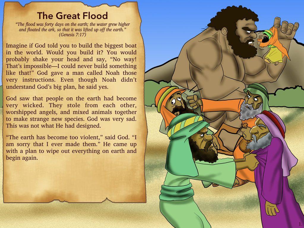 free children u0027s bible lesson noah u0027s ark the great flood