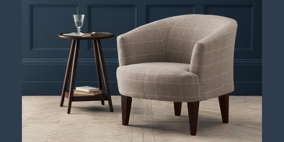 Buy Iona Chair Seat) Sumptuous Velour Light Stone High Leg   Light From The  Next UK Online Shop