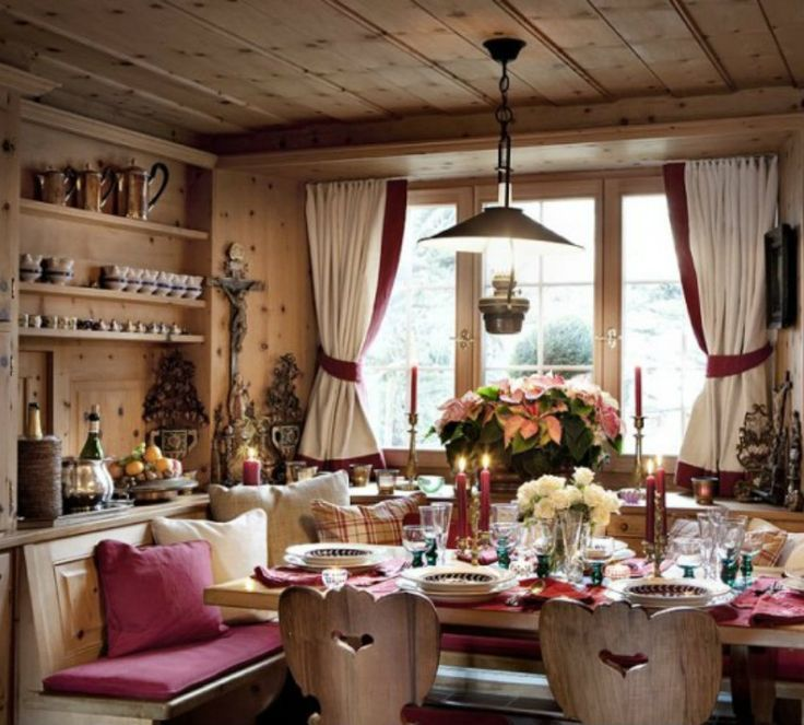 Chalet Interior, Chalet Style и Swiss Chalet